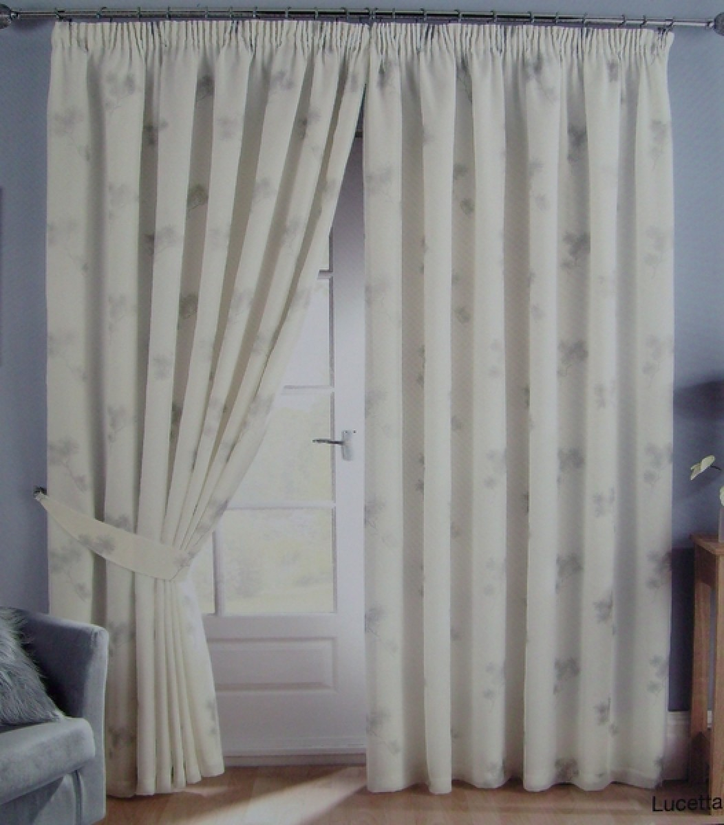 Dreams And Drapes Lucetta Voile Curtains Decorhom