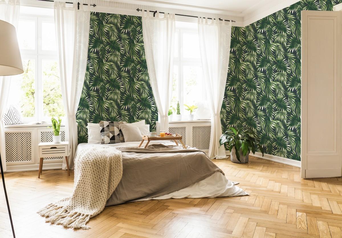 Graham And Brown Elegant Leaves Wallpaper Decorhom