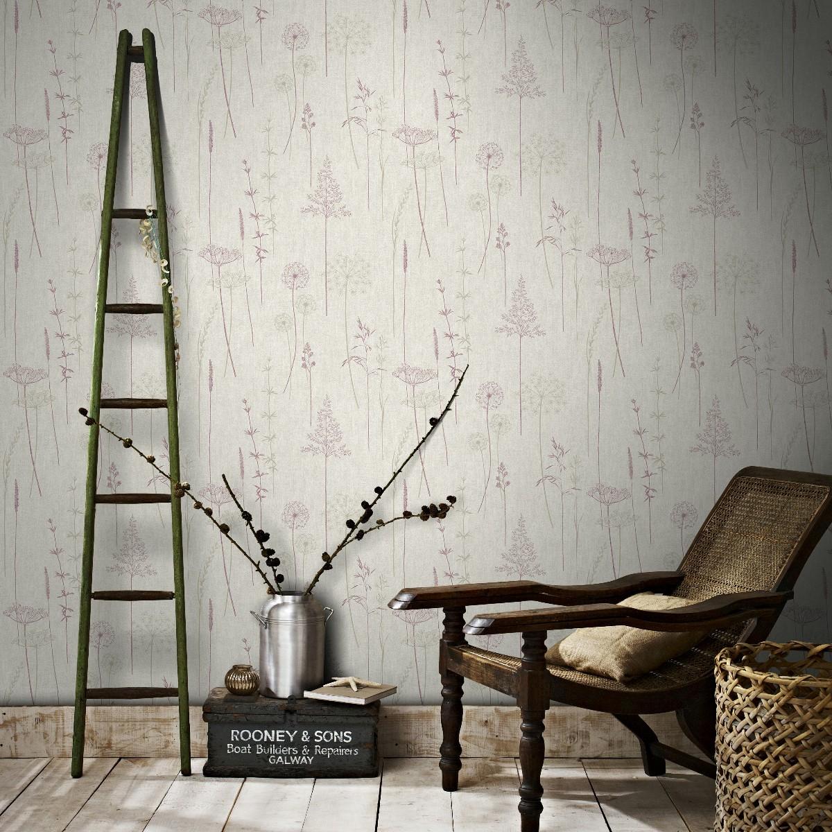 graham and brown meadow wallpaper decorhom. Black Bedroom Furniture Sets. Home Design Ideas