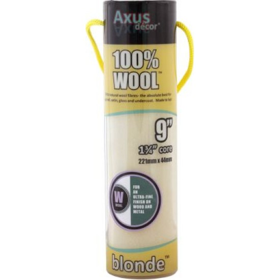 Axus Blonde Roller Sleeve