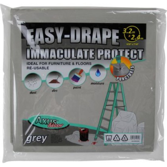 Axus Immaculate Easy Drape Dust Sheet