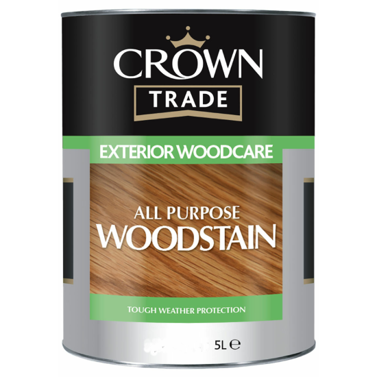 Crown Trade All Purpose Woodstain Colours