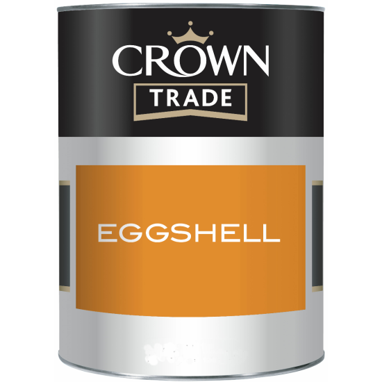 Crown Trade Eggshell Paint 2.5lt Colours