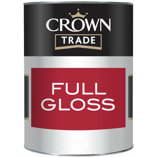 Crown Trade Gloss Paint 1lt Colours