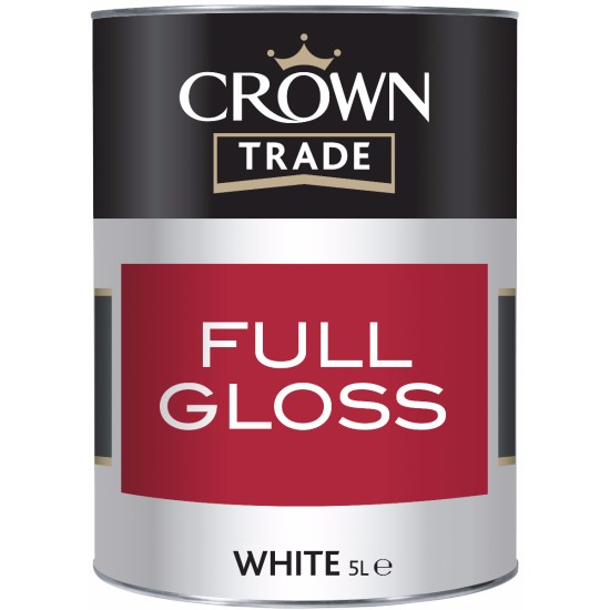Crown Trade Gloss Paint White