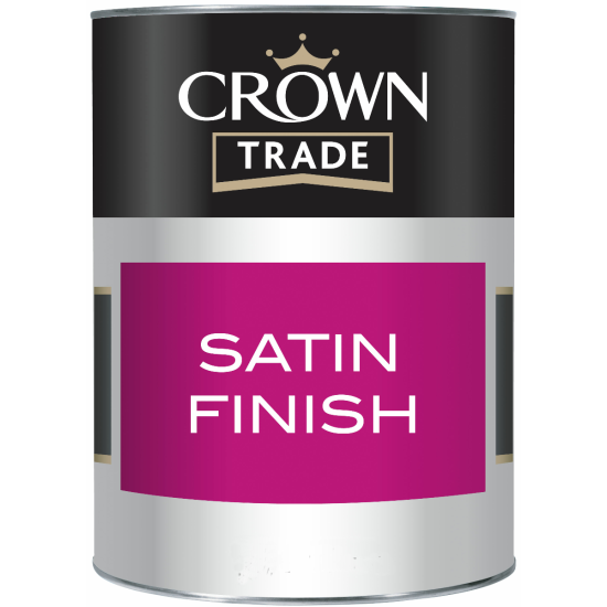 Crown Trade Satin Paint Colours