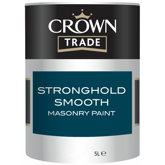 Crown Trade Stronghold Smooth Masonry Paint 5lt