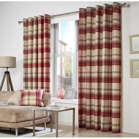 Curtina Belvedere Eyelet Curtains