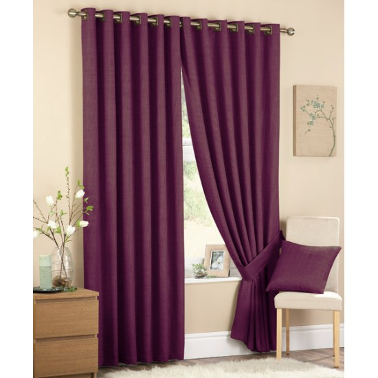 Curtina Cassia Eyelet Curtains