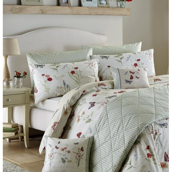 Dreams and Drapes Country Journal Duvet Cover Set
