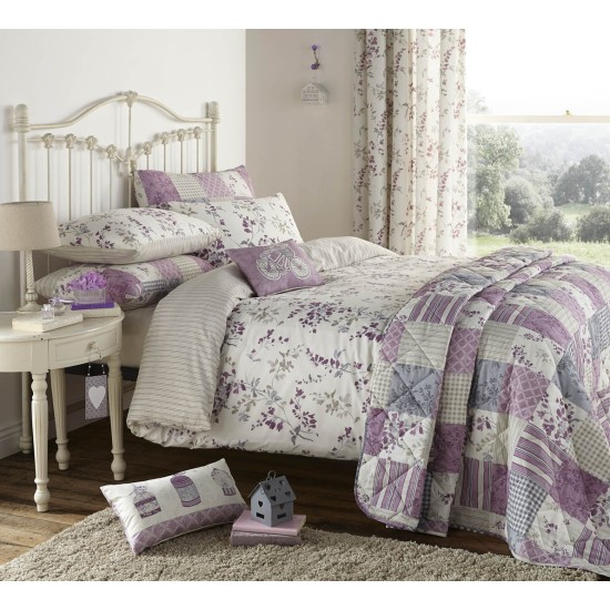 Dreams and Drapes Lila Duvet Cover Set