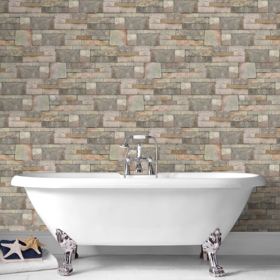 Graham and Brown Contour Sandstone Wallpaper