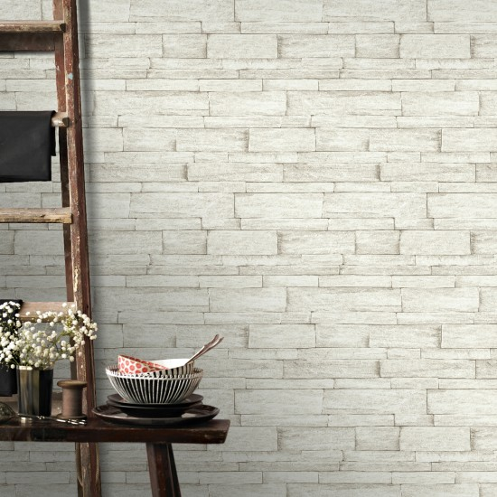 Graham and Brown Ledgestone Wallpaper