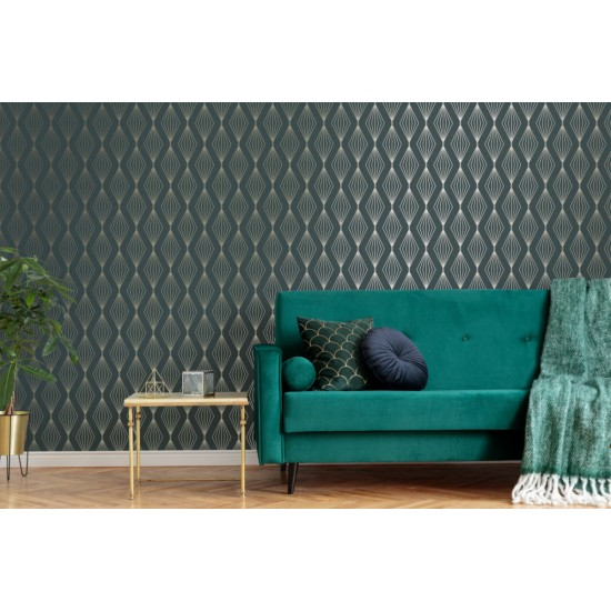 Graham and Brown Marquise Geo Wallpaper