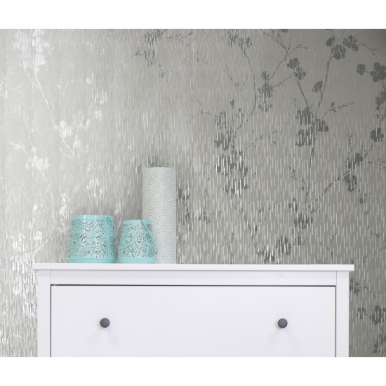 Graham and Brown Theia Blossom Wallpaper