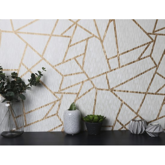Graham and Brown Theia Geo Wallpaper