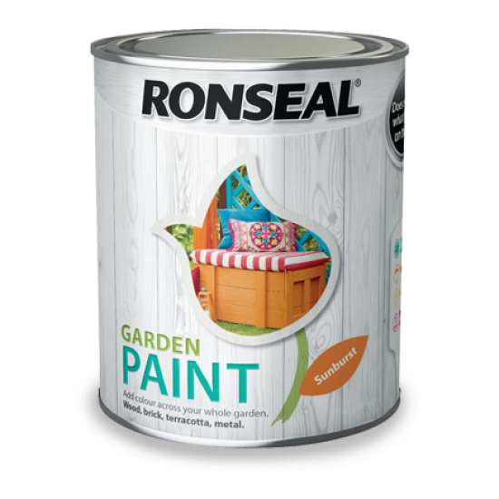 Ronseal Garden Paint Colours