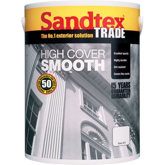 Sandtex Trade High Cover Smooth Masonry Paint