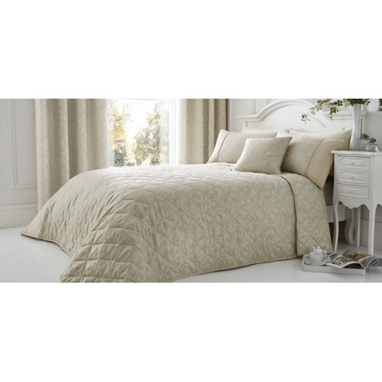 Serene Ebony Quilted Bedspread