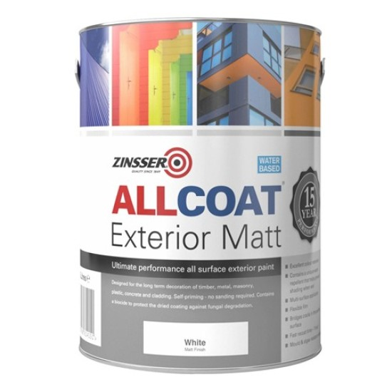 Zinsser AllCoat Exterior Paint 1lt